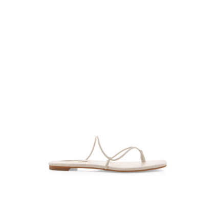 Ariel - White Clay Croc by Billini Shoes