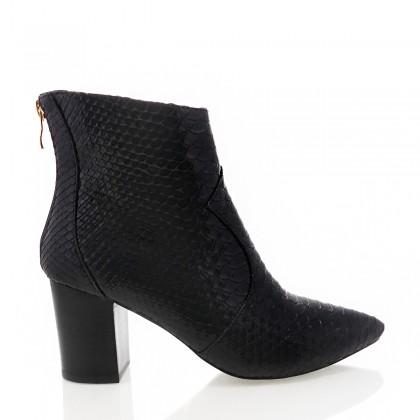Aveda Black Shine Snake by Billini Shoes
