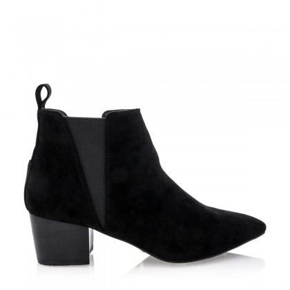 Baci Black Suede by Billini Shoes