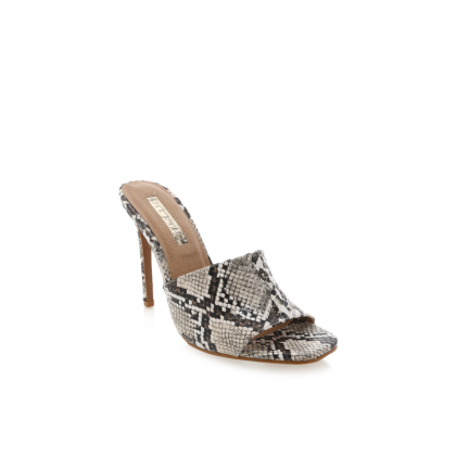 Balira - Cream Snake by Billini Shoes