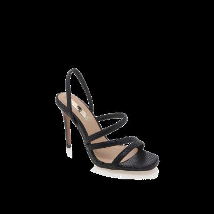 Ballari - Black Reptile by Billini Shoes