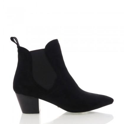 Basta Black Suede by Billini Shoes