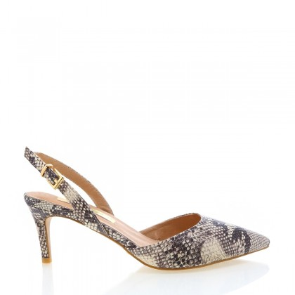 Berlin Nude Multi Snake by Billini Shoes