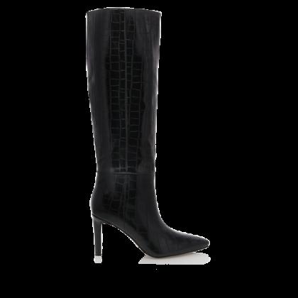 Bourbon - Black Croc by Billini Shoes