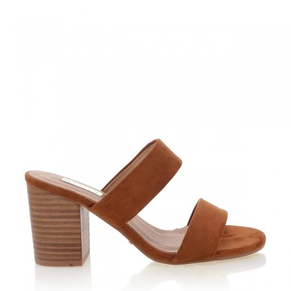 Cabo Chestnut Suede by Billini Shoes