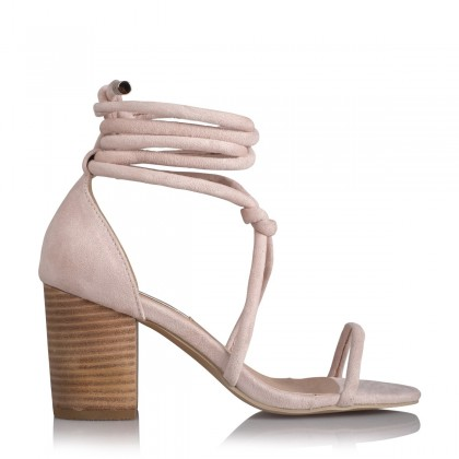 Cairo Blush Suede by Billini Shoes
