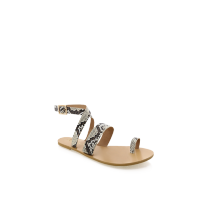 Cara - Cream Snake by Billini Shoes