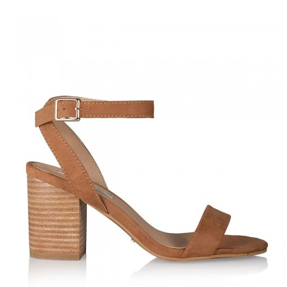 Carlina - Tan Suede by Billini Shoes