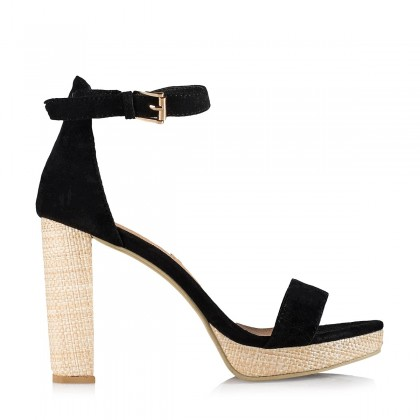 Catana Black Suede by Billini Shoes