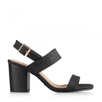 Cesara Black Nubuck by Billini Shoes