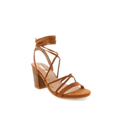 Cleo - Chestnut Suede by Billini Shoes