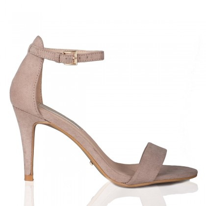 Cora Nude Suede by Billini Shoes