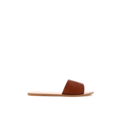 Crete - Tan Lizard by Billini Shoes