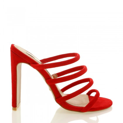 Daciana Red Suede by Billini Shoes
