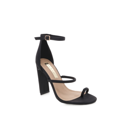 Daia - Black Nubuck by Billini Shoes