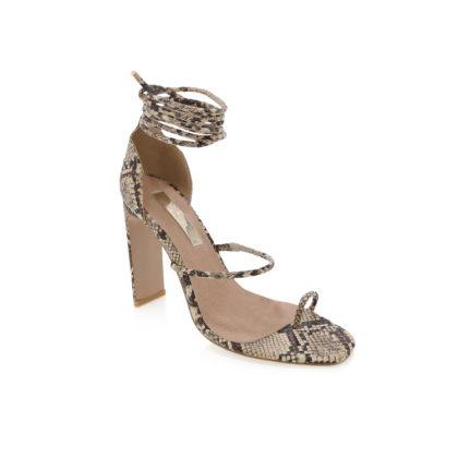 Dakota - Camel Snake by Billini Shoes