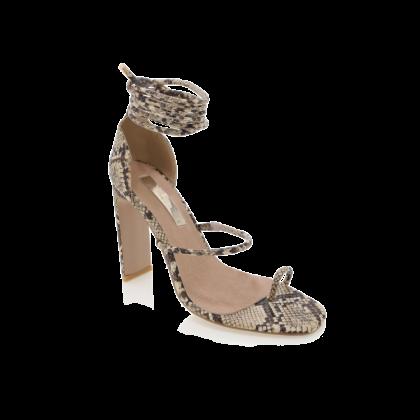 Dakota - Camel Snake by Billini Shoes