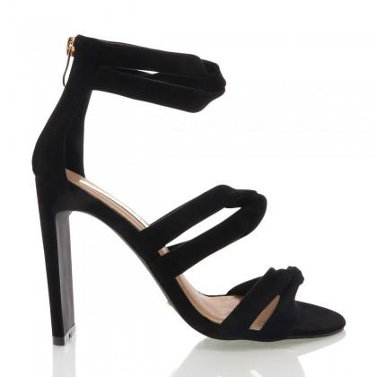 Dara Black Suede by Billini Shoes