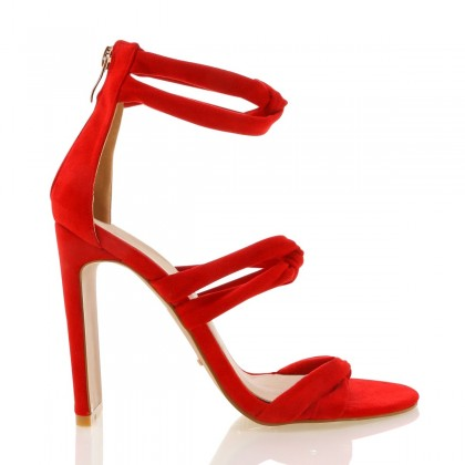Dara Red Suede by Billini Shoes