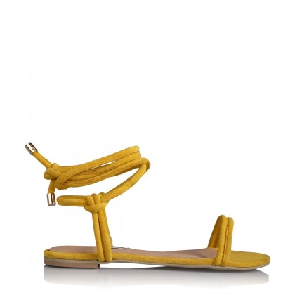 Daytona Yellow Suede by Billini Shoes