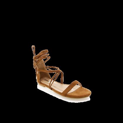 Delira - Chestnut Suede by Billini Shoes