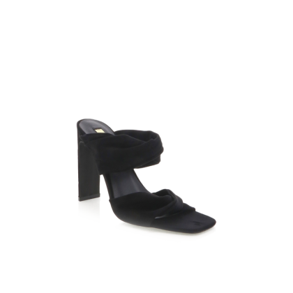 Deltona - Black Suede by Billini Shoes