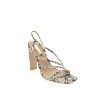 Desi - Cream Snake by Billini Shoes
