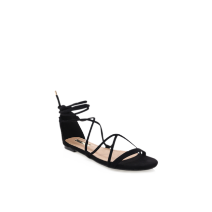 Dhana - Black Suede by Billini Shoes