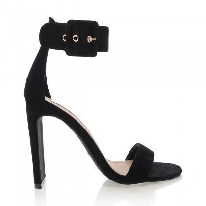 Dharma Black Suede by Billini Shoes