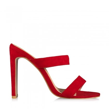 Dionis Red Suede by Billini Shoes