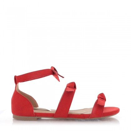 Dominica Red Suede by Billini Shoes