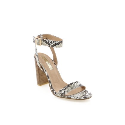 Elena - Cream Snake/Natural by Billini Shoes