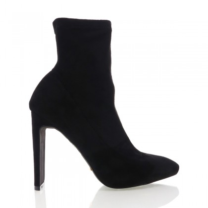 Eleni Black Suede by Billini Shoes