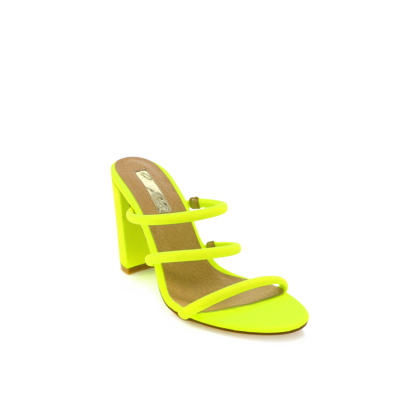 Elida - Neon Yellow Lycra by Billini Shoes