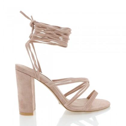 Elisa Blush Suede by Billini Shoes