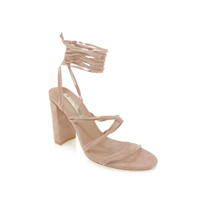 Elisa - Blush Suede by Billini Shoes