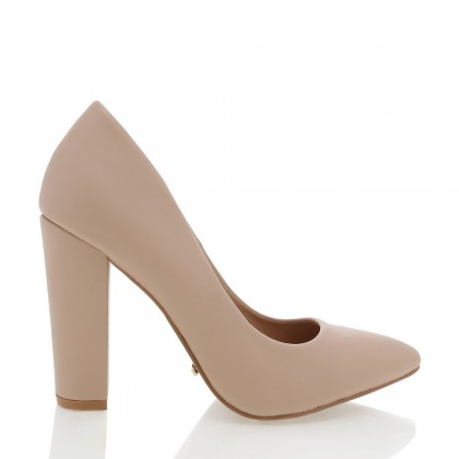 Elli Nude by Billini Shoes