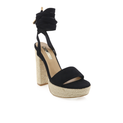 Emilie - Black Suede by Billini Shoes