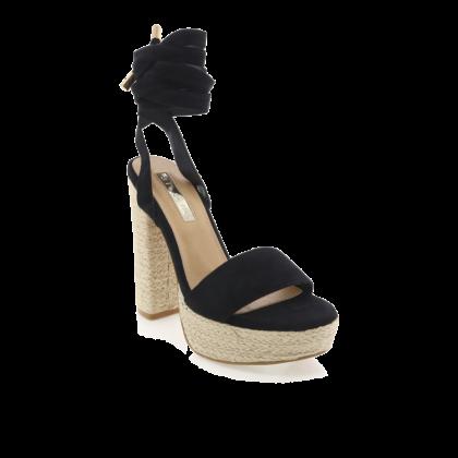 Emilie - Black Suede by Billini Shoes