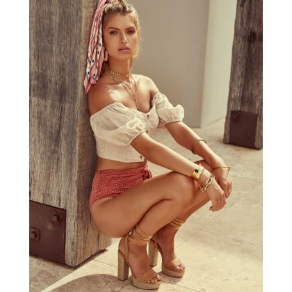 Emilie - Camel Suede by Billini Shoes