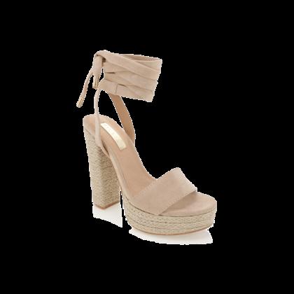 Emilie - Nude Suede by Billini Shoes