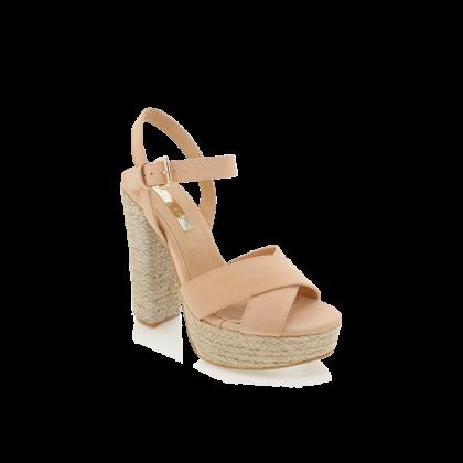 Estee - Camel Nubuck by Billini Shoes