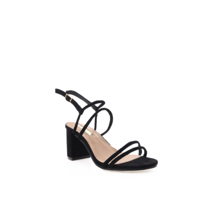 Fawn - Black Suede by Billini Shoes