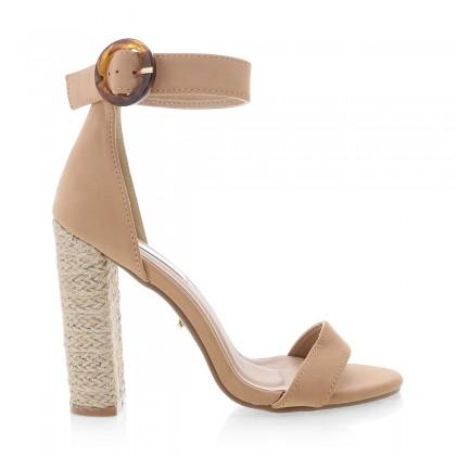 Fedora Camel Nubuck/Rope by Billini Shoes