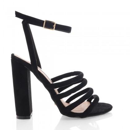 Frida Black Suede by Billini Shoes
