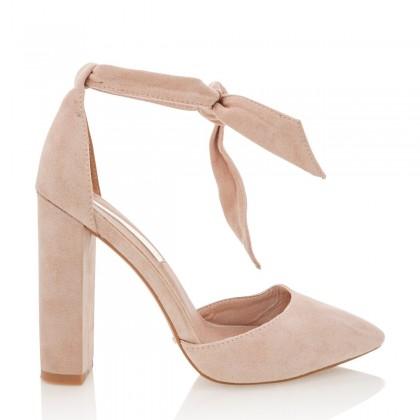 Gavi Blush Suede by Billini Shoes