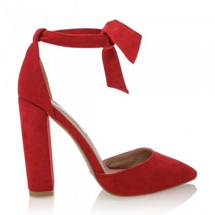 Gavi Red Suede by Billini Shoes