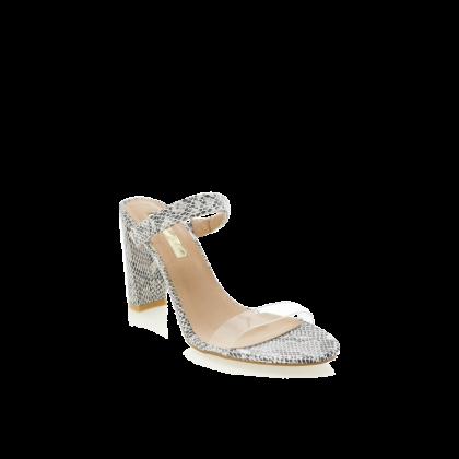 Gisela - White Reptile by Billini Shoes