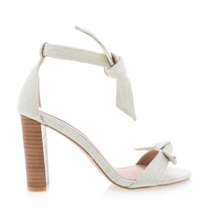 Goya Nat Linen/Natural by Billini Shoes