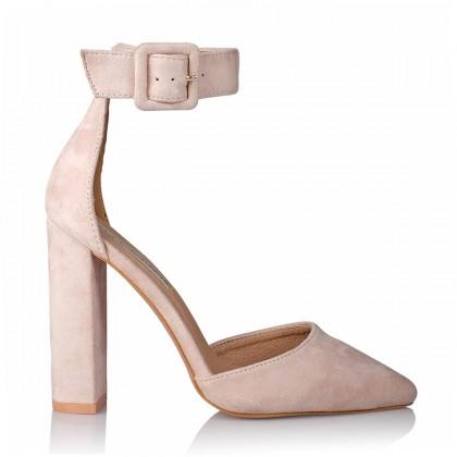 Gracie Blush Suede by Billini Shoes
